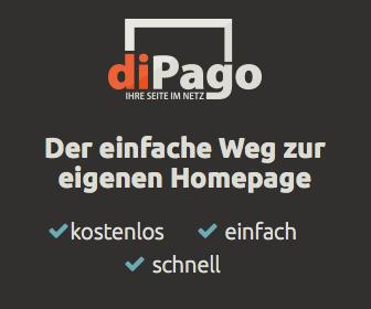 Homepage-Baukasten diPago - einfaches Bearbeiten der Webseiten, professionelle Designs